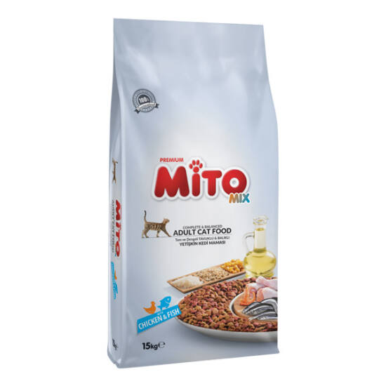 MITO MIX COLOR CAT (Chicken & Vegs) 1 kg