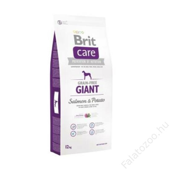 Brit Care Grain-free Giant Salmon & Potato 1 kg