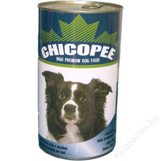 Chicopee Konzerv Kutya Csirke/Pulyka 400G