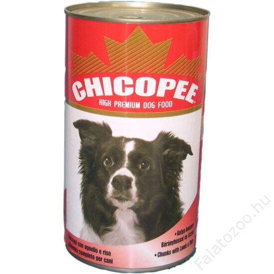 Chicopee Konzerv Kutya Lamb&Rice 1230G
