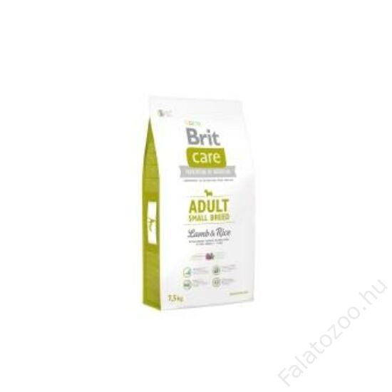 Brit Care Adult Small Breed Lamb & Rice 7,5 kg 2db