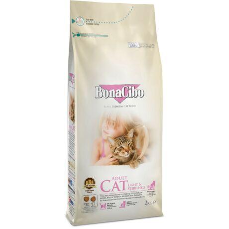 BONACIBO CAT (Light_and_Sterilized - Chicken) 2 kg