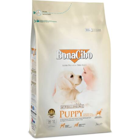 BONACIBO PUPPY (Chicken_and_Rice with Anchovy) 3 kg