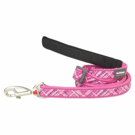Red Dingo Flanno Hot Pink póráz 100-180 cm Medium