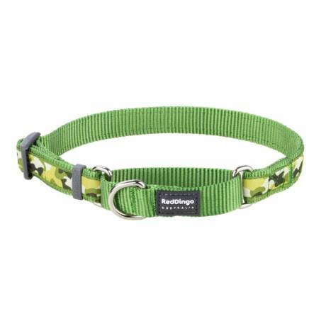 Red Dingo Camouflage Green Small Martingale nyakörv
