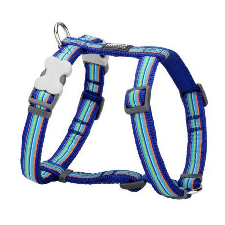 Red Dingo Horizontal Stripes Dark Blue Small Dog hám