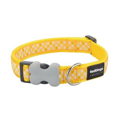 Red Dingo Gingham Yellow Small kutya nyakörv