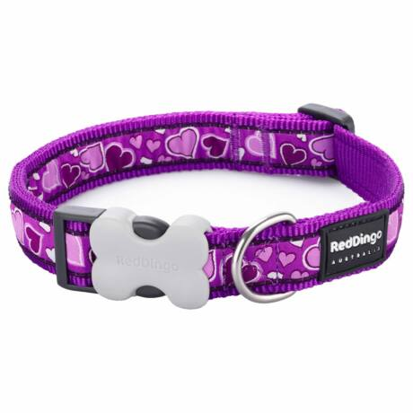 Red Dingo Breezy Love Purple XS kutya nyakörv
