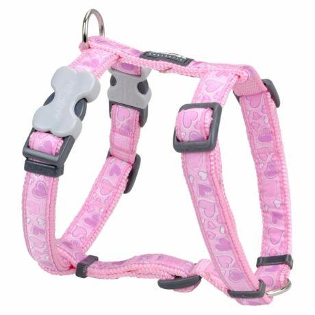 Red Dingo Breezy Love Pink Large Dog hám