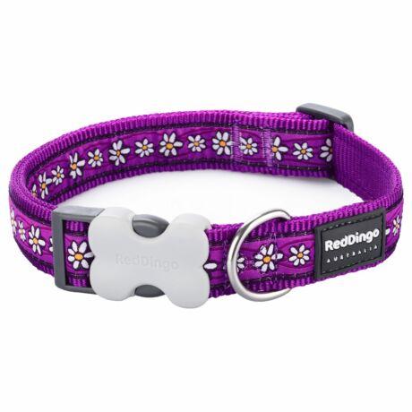 Red Dingo Daisy Chain purple Large kutya nyakörv