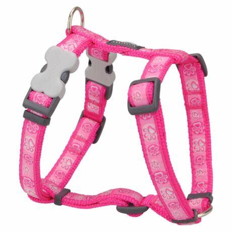 Red Dingo Paw Impressions Hot Pink XLarge Dog hám