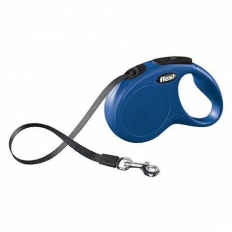 Flexi New Classic szalag S 5m 15kg-ig kék