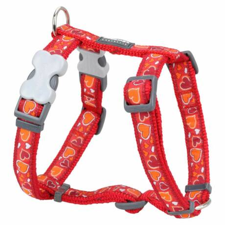Red Dingo Breezy Love Red XLarge Dog hám