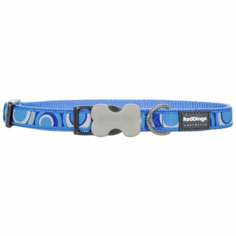 Red Dingo Circadelic Blue Small kutya nyakörv