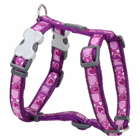 Red Dingo Breezy Love Purple Small Dog hám