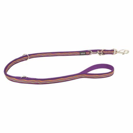 Red Dingo Dreamstream Purple multi-purpose póráz 200 cm Small
