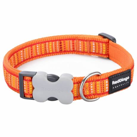 Red Dingo Lotzadotz orange Medium kutya nyakörv