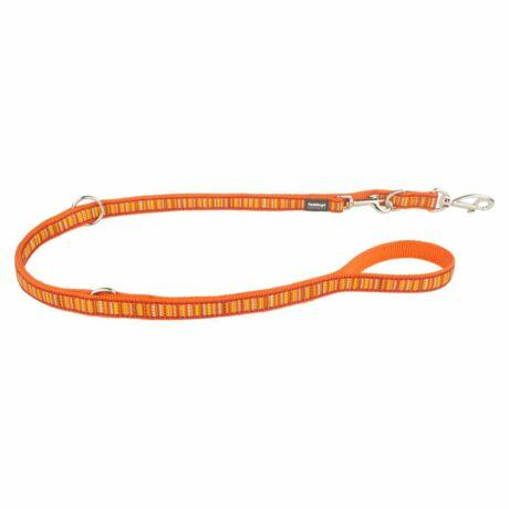 Red Dingo Lotzadotz orange multi-purpose póráz 200 cm Medium