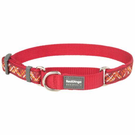 Red Dingo Flanno Red Medium Martingale nyakörv