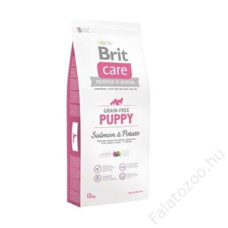 Brit Care Grain-free Puppy Salmon & Potato 12 kg
