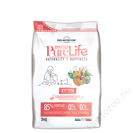 Flatazor Pure Life Chat Kitten 2kg