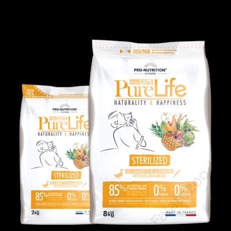 Flatazor Pure Life Chat Sterilized 2kg