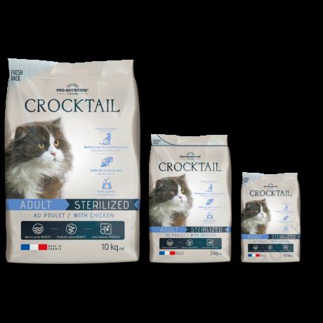 Flatazor Crocktail Adulte Sterilized with Chicken 2kg