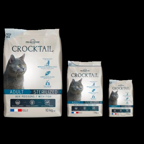 Flatazor Crocktail Adulte Sterilized with Fish 10kg