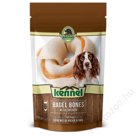 KENNEL CHEWING BONES BAGEL BONES 129g