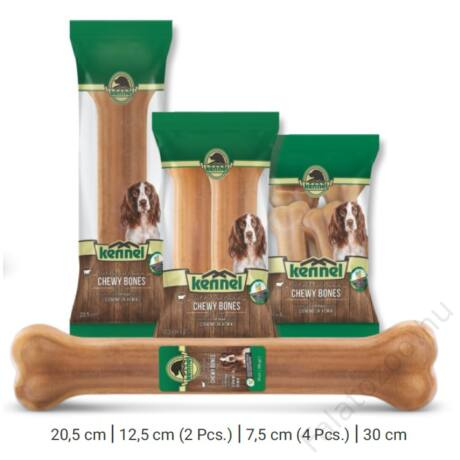 KENNEL CHEWING BONES NATURAL CHEWY BONES 12,5 CM (2db) 100g