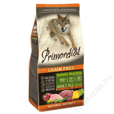 Primordial Grain Free Adult Rőtvad és Pulyka 12kg