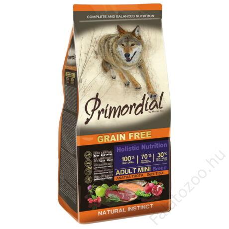 Primordial Grain Free Adult mini Kacsa és Pisztráng 2kg