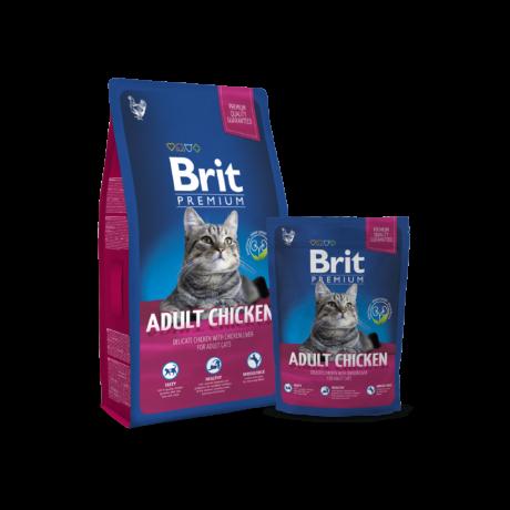 Brit Premium Cat Adult chicken 0,8kg