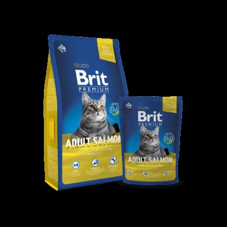 Brit Premium Cat Adult salmon 0,8kg