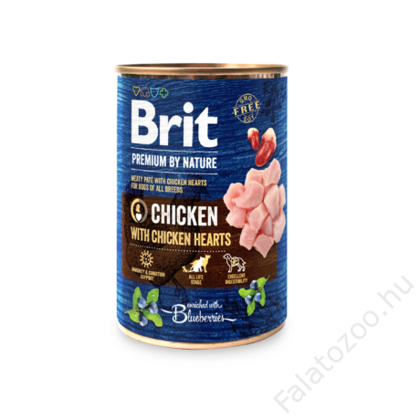 Brit Premium by Nature Paté Chicken with Hearts 800g