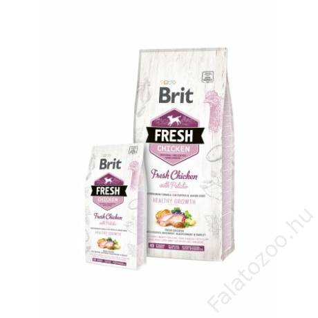 Brit Fresh Chicken with Potato Puppy Healthy Growth 12 kg