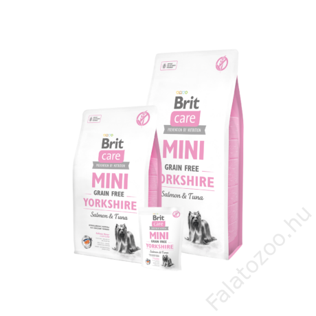 Brit Care Mini Grain Free Yorkshire Salmon & Tuna 0,4 kg