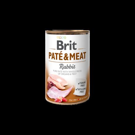 Brit Paté & Meat Rabbit 400 g