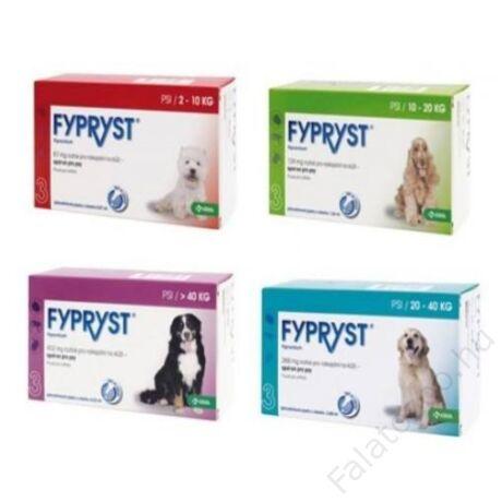 Fypryst kullancs bolha csepp kutyának S 2-10 kg