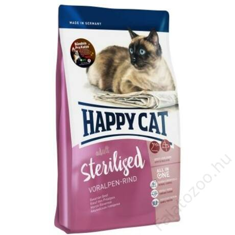 Happy Cat Supreme FIT&WELL ADULT STERILISED MARHA 10kg