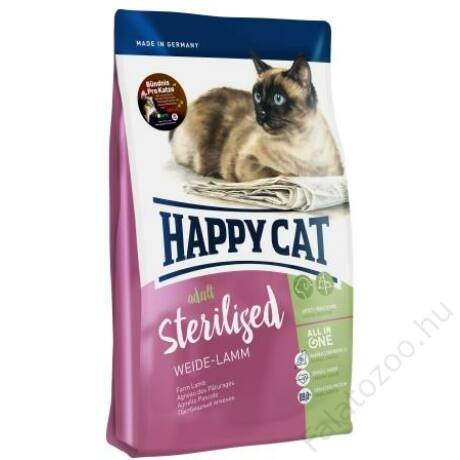 Happy Cat Supreme FIT&WELL ADULT STERILISED BÁRÁNY 300g