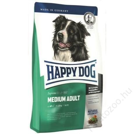 Happy Dog Supreme Fit & Vital MEDIUM ADULT 4kg