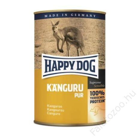 Happy Dog konzerv KANGURU PUR (Kenguru) 12x400g