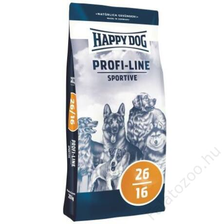 Happy Dog Profi-Krokette SPORTIVE 26/16 20kg