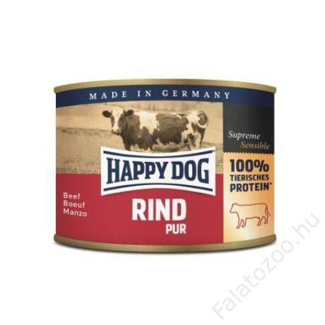 Happy Dog konzerv RIND PUR (Marha) 12x200g