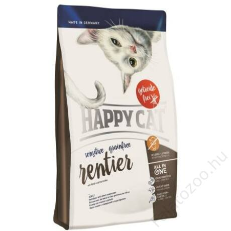 Happy Cat SENSITIVE GRAINFREE RÉNSZARVAS 300g