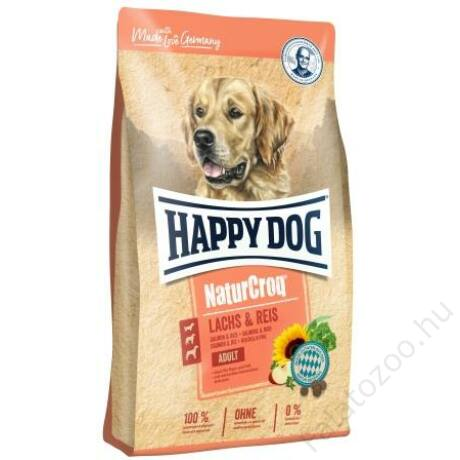Happy Dog NATUR-CROQ LACHS/REIS 12kg