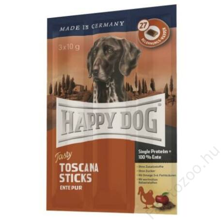 Happy Dog TASTY TOSCANA STICK 3x10g