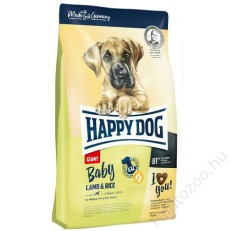 Happy Dog Supreme BABY GIANT LAMM/REIS 15kg