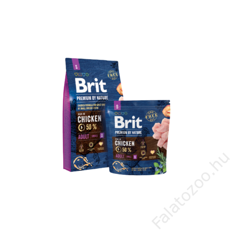 Brit Premium by Nature Small Adult 3kg